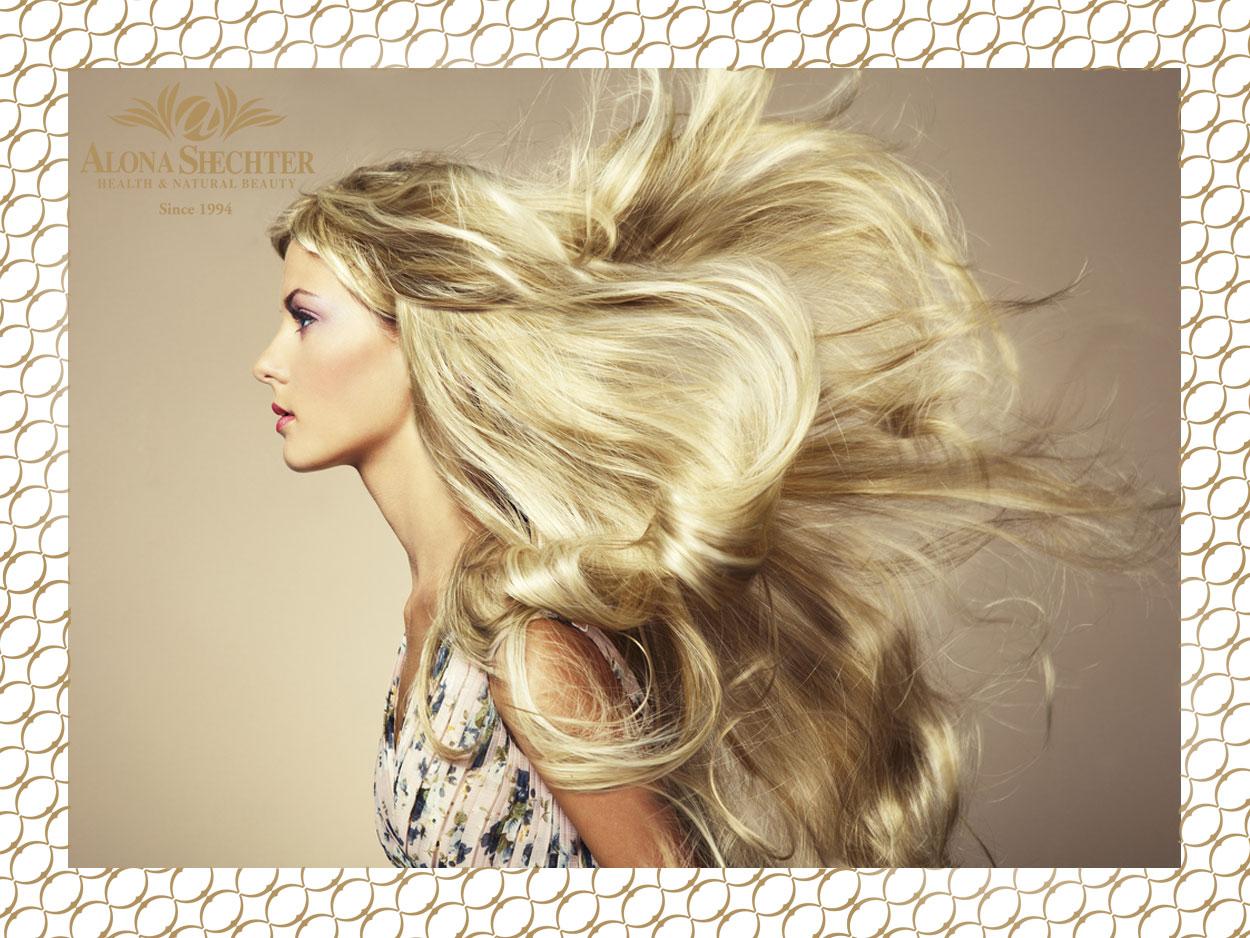 דוגמנית שיער