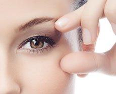 טיפוח אזור העיניים